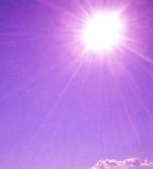 紫外線で髪がパサパサ